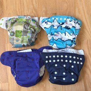 Other - All in one cloth diapers